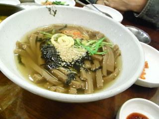 ドングリ粉の寒天スープ.JPG