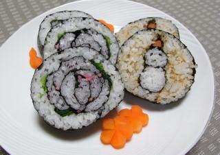 雪だるま寿司.JPG